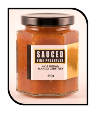 Hot Indian Mango Chutney